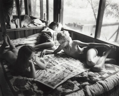 Sally Mann, 'Sunday Funnies', 1991