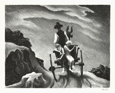 Thomas Hart Benton, 'Goin Home.', 1937
