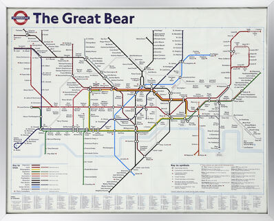 Simon Patterson, 'The Great Bear', 1992