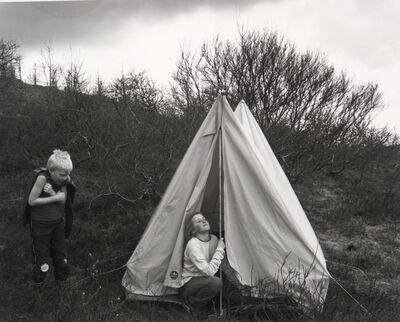 Agnieszka Sosnowska, 'The Classroom Escape,Brúarásskóli,Iceland', 2015