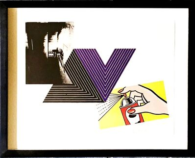 Richard Pettibone, 'The Appropriation Print  (Andy Warhol, Frank Stella, Roy Lichtenstein)', 1970