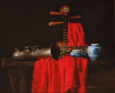 Weidong Wang, 'Still Life With Saxophone', 2009