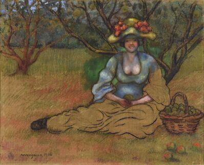 George Manzana-Pissarro, 'Récolte des Pommes', 1906