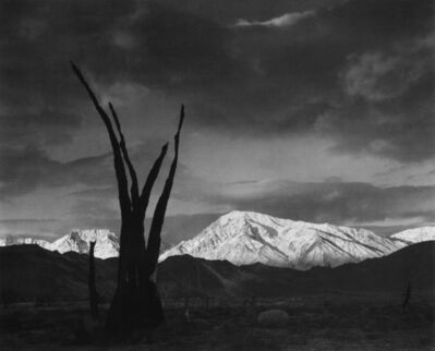 Ansel Adams, 'Sunrise, Mount Tom, Sierra Nevada, CA', ca. 1948