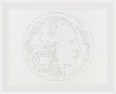 Andy Warhol, 'Cowboys and Indians: Indian Head Nickel', 1986