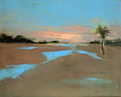 Frances Roosevelt, 'Aqua Sky'