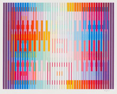 Yaacov Agam, 'White Light', 1992