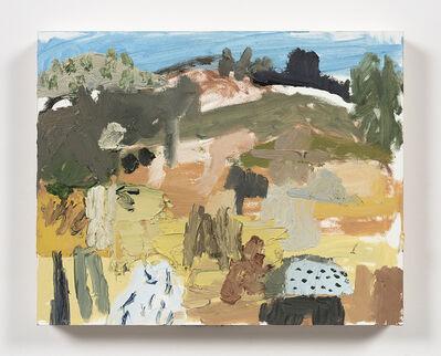 Mariel Capanna, 'Horses, Yucca, Hill, Hat', 2019