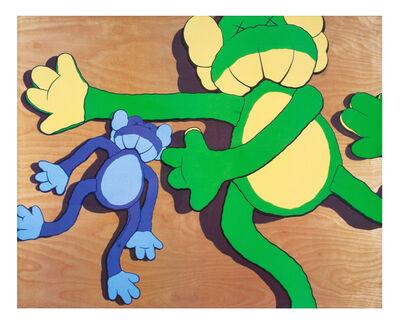 KAWS, 'KAWS x A Bathing Ape poster', 2003