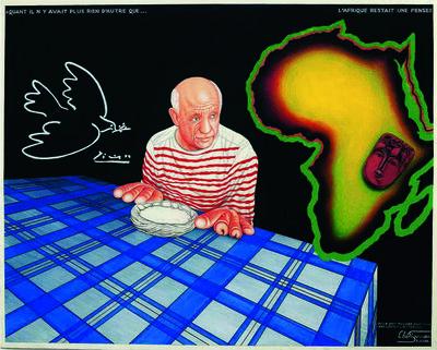 Chéri Samba, 'Picasso', 2000
