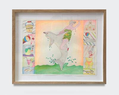 Misaki Kawai, 'Untitled (girl on dolphin)', 2008