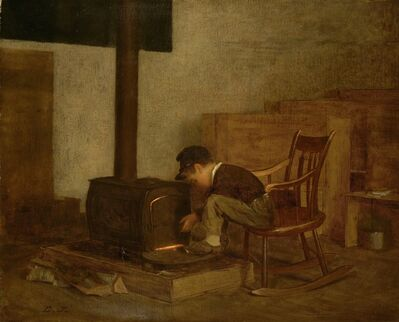 Eastman Johnson, 'The Early Scholar', ca. 1865