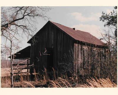 Beverly Buchanan, 'Buchanan's Grandmothers School Rear View #23A', 1994