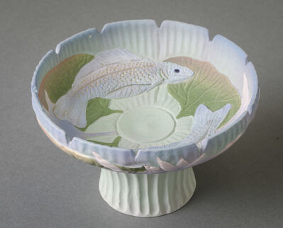 Nancy Adams, 'Carved Vessel with Fish Motif', 1999