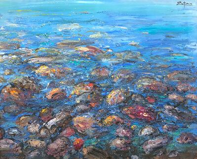 Bruno Zupan, 'Rocks and Sea', 2019