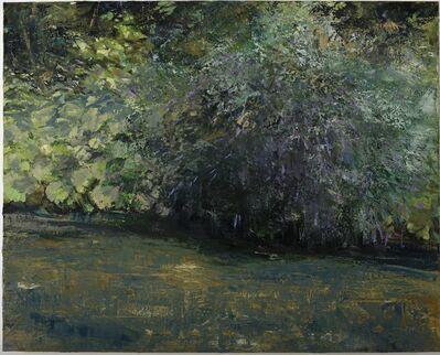 Donald Teskey, 'Riverbank with Buddleja'