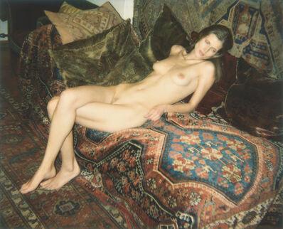 Juergen Teller, 'Nackt auf Sigmund Freuds Couch', 2006