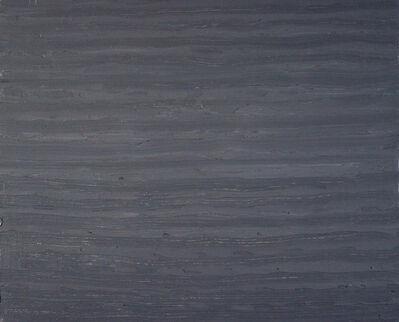 Francie Lyshak, 'Grey Horizontal', 2016