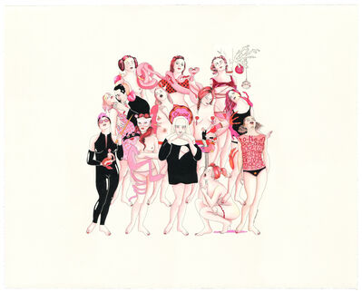 Delphine Lebourgeois, 'Les Rêves Roses II - Original', 2018