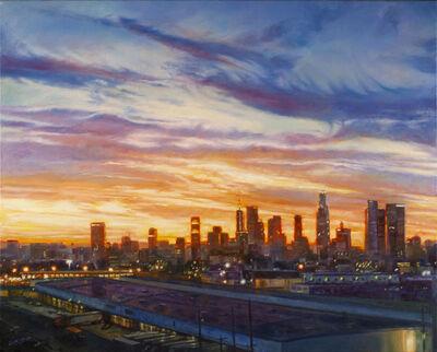 thomas garner, 'Downtown LA Sunset', 2020