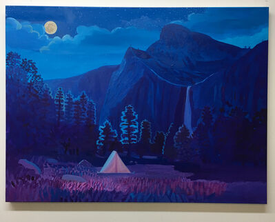 Daniel Heidkamp, 'Night Camp III', 2019