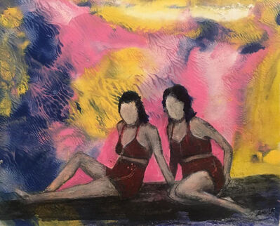 Shula Singer Arbel, 'The Bathing Beauties Of Heidenheim', 2018-2019