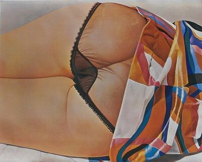 John Kacere, 'Black Panties', 1972