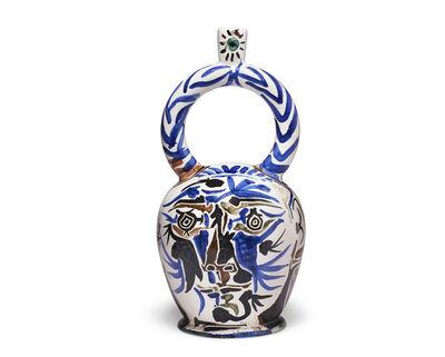 Pablo Picasso, 'Vase aztèque aux deux visages', 1957