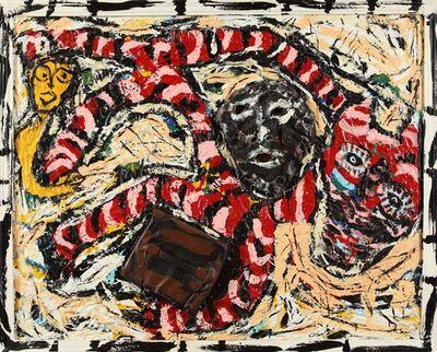 Thornton Dial, 'Running Negro', 1992