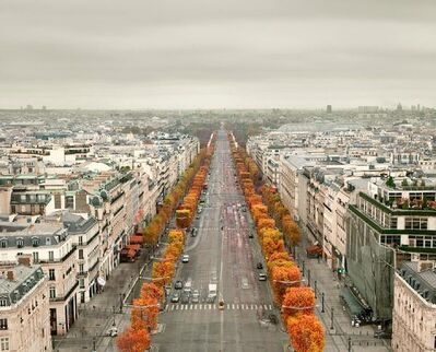 David Burdeny, 'Avenue des Champs Elysees, Paris, France', 2012
