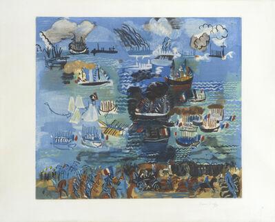 Raoul Dufy, 'Fête Nautique à Marseilles. Regatta at Marseilles', 1926-1928
