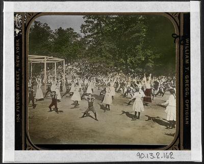 Jacob A. Riis, 'Scholastic meet in Bronx (Public School)', ca. 1897