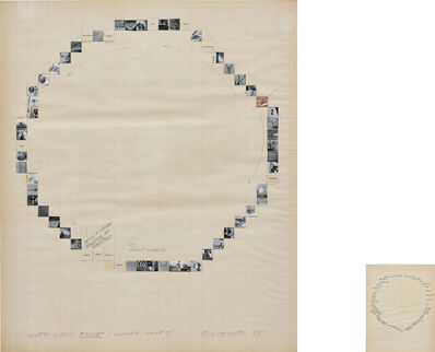 John Baldessari, 'Word Chain: Faucet (Ilene's story)', 1975
