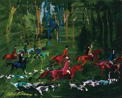 LeRoy Neiman, 'Hunt Field', 1967