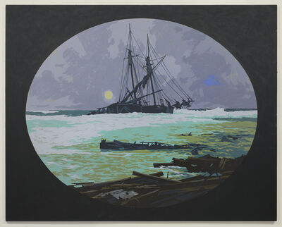 Matthew Benedict, 'Wreck at Wellfleet', 2013