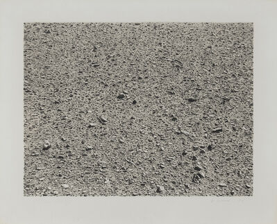 Vija Celmins, 'Untitled (Desert)', 1975