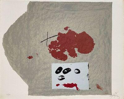 Antoni Tàpies, '10e anniversaire Fondation Maeght ', 1974