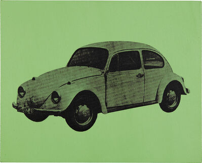 Andy Warhol, 'Volkswagen Bug (Green)', 1977