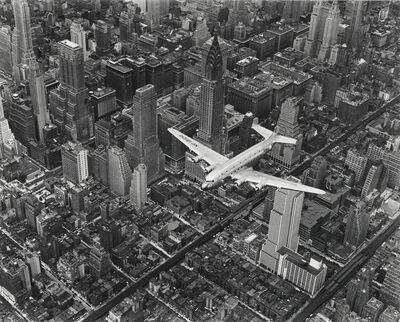 Margaret Bourke-White, 'DC-4 Flying over New York City', 1939