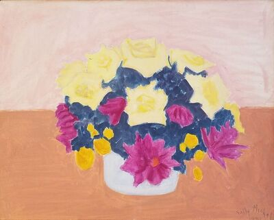Sally Michel, 'Floral Still Life', 1981
