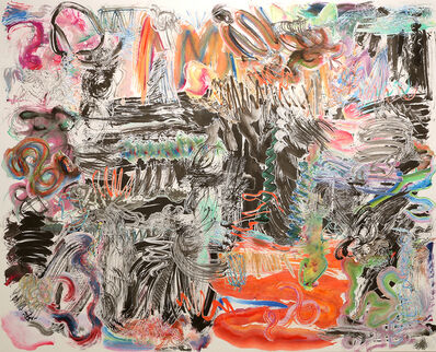 Wu Jian'an 邬建安, '500 Brushstrokes #14', 2016