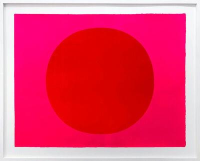 Rupprecht Geiger, 'Metapher Zahl Null', 1985-89