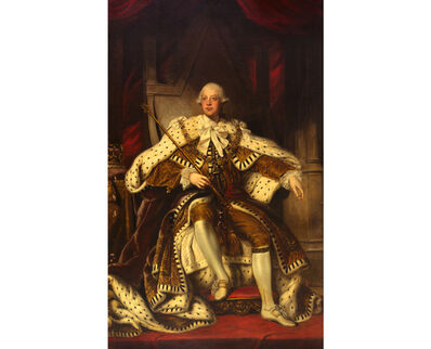 Joshua Reynolds, 'Portrait of King George III', ca. 1779-1800