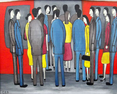 Christopher E Barrow, 'Boarding The Train', 2016