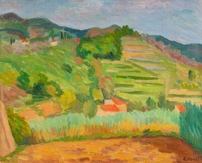 Rolando Monti, 'Paesaggio ligure'