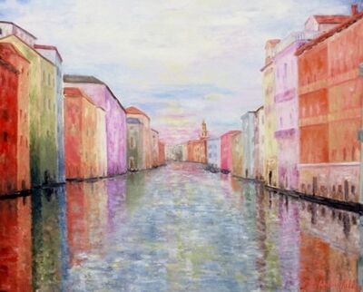 William Kelley, 'Grand Canal, Venezia', 2016