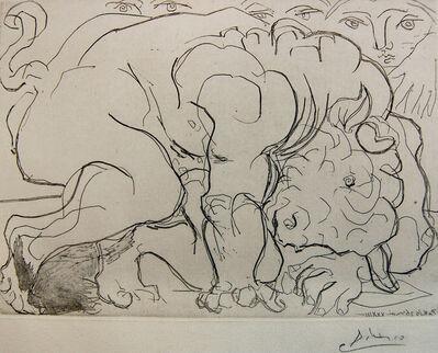 Pablo Picasso, 'Minotaure Blessé, VI. (Injured Minotaur)', 1933