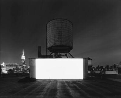 Hiroshi Sugimoto, 'Wolf Building Rooftop, New York', 2015