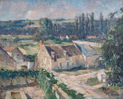 John Fulton Folinsbee, 'Bourre Gardens, France', Circa 1926-1929