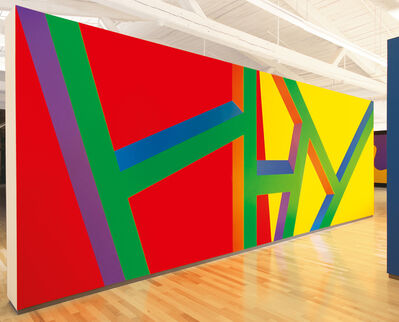 Sol LeWitt, 'Wall Drawing #1046', 2002